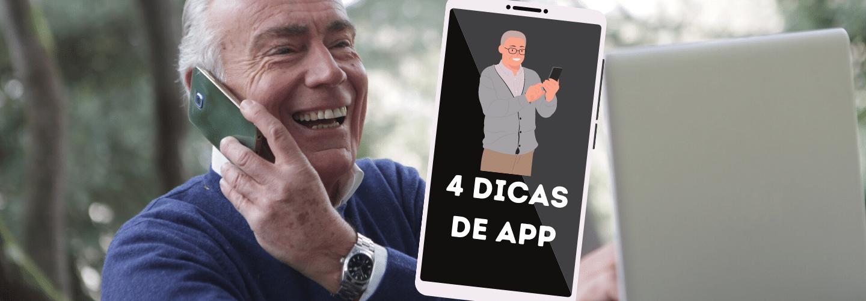 Terceira idade conectada aplicativos para idosos