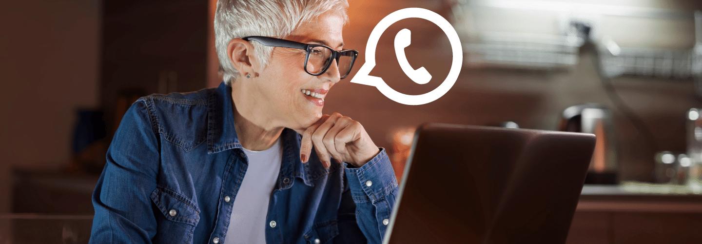 Como usar whatsapp web no computado