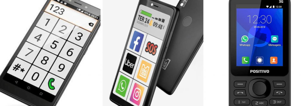 Celular para idoso: avaliamos 5 aparelhos que já vem com WhatsApp