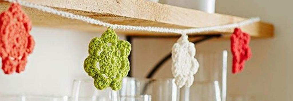 Divirta-se: aprenda a fazer Flores de Crochê para Aplicação